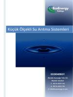 Küçük Ölçekli Su Arıtma Sistemleri - Vericon