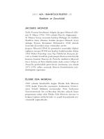 J. Monod, Rastlantı ve Zorunluluk