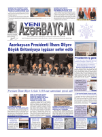 Азярбайъан Президенти Илщам Ялийев Бюйцк Британийайа