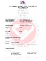 çanakkale onsekiz mart üniversitesi tıp fakültesi