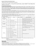 Başvuru Adresi: Profesör ve Doçent kadroları için Personel Daire