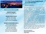 Kongre Broşürü İçin Tıklayınız - Kafkas Üniversitesi 7. Uluslararası