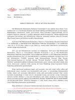 Mal Bildirimi Talimatı - Tapu ve Kadastro Genel Müdürlüğü