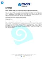 Alacaklıya Yapılan Geç Ödemelere İlişkin 2014 Yılı İçin