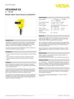 Kullanim Kilavuzu - VEGABAR 83 - 4 … 20 mA Metalik ölçüm hücreli