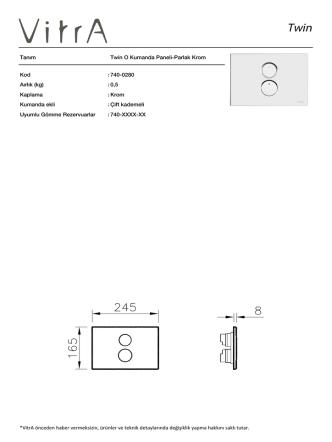 740-0280 Aırlık (kg)