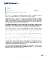 2014-041 Tarımsal Ürünlerde İhracat İadesi Yardımları