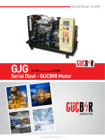 GJG Katalog - Güçbir Jeneratör