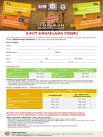 kayıt konaklama formu - Antalya Critical Care 2014