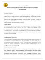 DIŞ TİCARET ENSTİTÜSÜ Küresel Pazarlama ve Marka Yönetimi