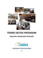 teknik destek programı