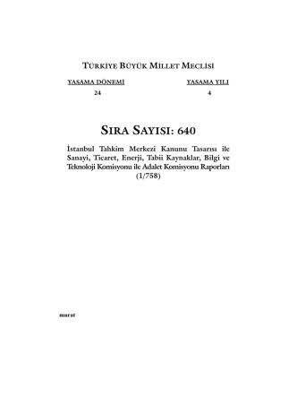 640 - Türkiye Büyük Millet Meclisi