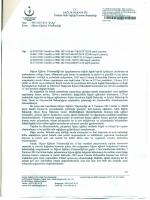 İlçe Milli Eğitim Müdürlüğü Yazısı