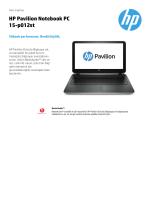 PSG Consumer 1C14 Notebook Datasheet