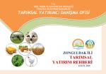 zonguldak ili tarımsal yatırım rehberi
