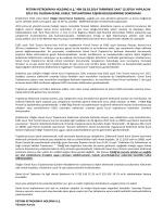 Dosyayı İndir - Petkim PetroKimya Holding A.Ş.
