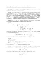 EKO161 İktisatçılar için Matematik I