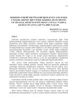 BOZDOĞAN, Ahmet-MODERN EDEBÎ METİNLERİ