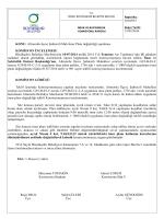 37. komisyon raporu - Ordu Büyükşehir Belediyesi