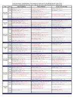 15.01.2014 Bütünleme gözetmen planı ve sınav programı