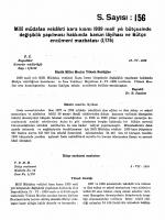 S. Sayısı: 156 - Türkiye Büyük Millet Meclisi