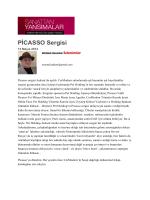 (Monad Balkan: İzlenimler) Picasso Sergisi
