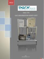 oag-170 gaz absorbsiyon deney seti
