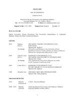 ALI BABAHAN CV - Sosyoloji Bölümü