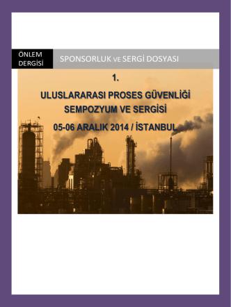 1. uluslararası proses güvenliği sempozyum ve sergisi 05