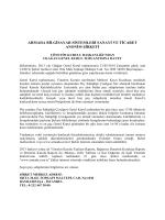 armada bilgisayar sistemleri sanayi ve ticaret anonim şirketi