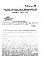 Türk Ceza Kanununun 140 ve 159 ncu maddelerinin değiştirilmesi