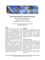 2.45 GHz Kenar Etkileşimli Bant Geçiren Süzgeç (Edge
