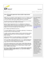 2015 yılında uygulanacak motorlu taşıtlar vergisi tutarları açıklandı.