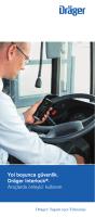 Yol boyunca güvenlik. Dräger Interlock®. Araçlarda önleyici kullanım