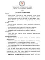 özel takev anadolu ve fen lisesi liseler arası 6. tiyatro festivali 2014