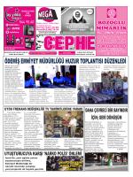 19.09.2014 Tarihli Cephe Gazetesi