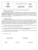 127. komisyon raporu - Ordu Büyükşehir Belediyesi