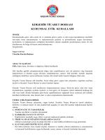 kırşehir ticaret borsası kurumsal etik kuralları