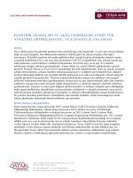 etkin yük yönetimi, optimizasyonu, ve kapasite planlaması