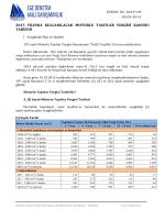 2015 yılı motorlu taşıtlar vergisi tarifesi