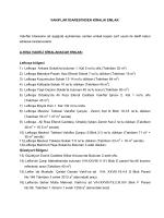 İhale Dosyası 22 - Kıbrıs Vakıflar İdaresi EVKAF