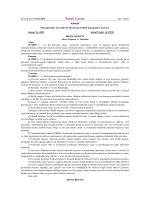 6585 Sayılı Perakende Ticaretin Düzenlenmesi