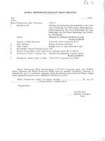 Banka Promosyon İhalesi Teklif Mektubu