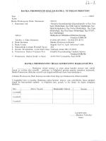 Banka Promosyon İhalesi Banka Yetkilisi Mektubu
