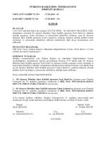 karar 311 gücüm spor – 68 aksaray belediye tb3l müsabakası
