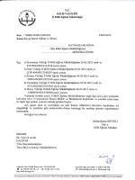 T.C. KİLİS vALıLıGı - Kilis Milli Eğitim Müdürlüğü