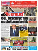 E-Gazete - Kurtuluş Gazetesi