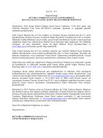 31-03-2015 Genel Kurul Bilgilendirme Dökümanı