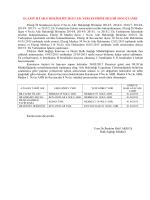 ELAZIĞ İLİ AİLE HEKİMLİĞİ 2015/3. EK YERLEŞTİRME İŞLEMİ