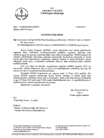 T.C. AKSARAY VALİLİĞİ İl Millî Eğitim Müdürlüğü Sayı : 76490249